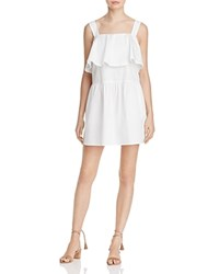 Rebecca Minkoff Palm Flounce Tier Dress 100 Exclusive White