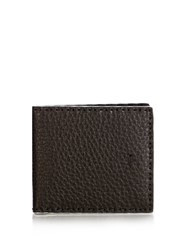 Fendi Selleria Leather Wallet Silver Multi