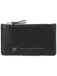 Giuseppe Zanotti Design Logo Card Holder Black