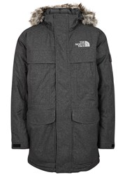 The North Face Murdo Faux Fur Trimmed Shell Parka Grey