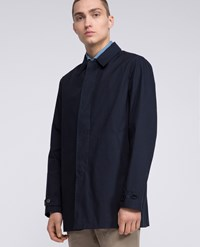 Aspesi Raincoat Alfie Summer Navy Blue