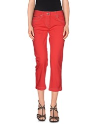 Henry Cotton's Denim Denim Capris Women Coral