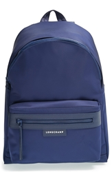 Longchamp 'Le Pliage Neo' Nylon Backpack Navy