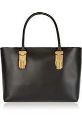 Opening Ceremony Mac Leather Tote Black