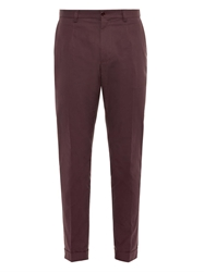 Dolce And Gabbana Slim Fit Cotton Chinos