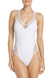 Kenneth Cole Women's New York Wrapped In Love One Piece Swimsuit