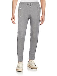 The Kooples Moto Sweatpants Grey