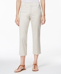 Jm Collection Cropped Twill Capri Only At Macy's