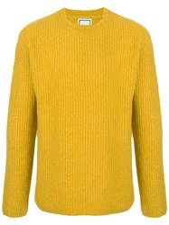 Wooyoungmi Crew Neck Sweater Yellow