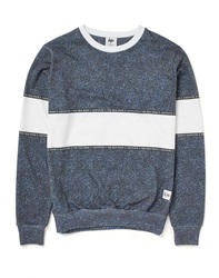 Hype X The Idle Man Midnight Speckle Chest Panel Sweat