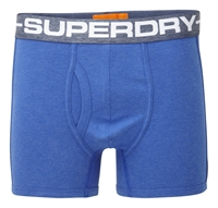 Superdry Sport Boxers Royal Blue Marl