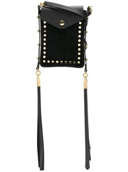 Isabel Marant Teinsy Cross Body Bag Women Leather One Size Black