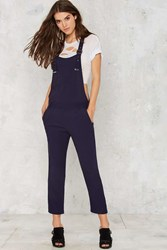 Nasty Gal You Know The Chill Crop Overalls