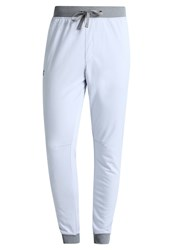 Under Armour Tracksuit Bottoms Air Force Gray Heath Light Grey