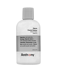 Anthony Logistics For Men Anthony Glycolic Facial Cleanser 8 Oz. No Color