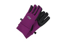 Outdoor Research Women's Sensor Gloves Orchid Extreme Cold Weather Gloves Purple