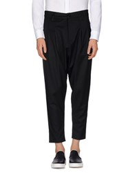 Minimal Trousers Casual Trousers Men Black