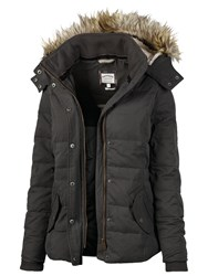 Fat Face Pointon Short Padded Jacket Grey