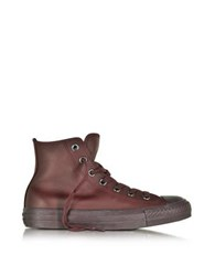Converse All Star High Dark Burgundy Leather Women's Sneaker