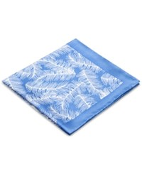 Ryan Seacrest Distinction Men's Plume Floral Print Pocket Square Only At Macy's Blue