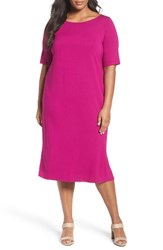Eileen Fisher Plus Size Women's Jersey Shift Dress