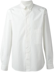 Christophe Lemaire Chest Pocket Shirt White
