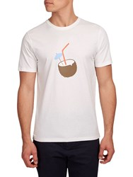 Hymn Scarborough Coconut Graphic T Shirt Cream