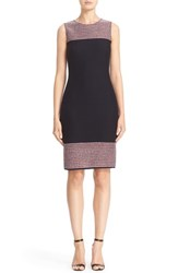St. John Women's Collection Martinique Tweed Sheath Dress