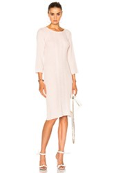 Ryan Roche For Fwrd Sweater Dress In Pink