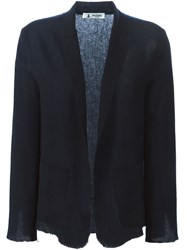 Barena Woven Deconstructed Jacket Blue