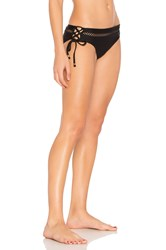 Ella Moss Juliet Solids Bikini Bottom Black