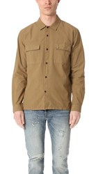 Levi's Made And Crafted Ripstop Shirt Khaki