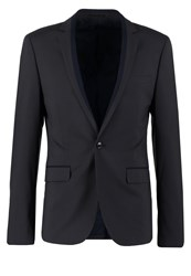 Kiomi Suit Jacket Dark Grey Dark Gray