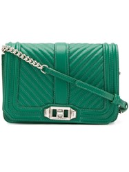 Rebecca Minkoff Quilted Crossbody Bag Green