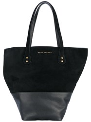 Marc Jacobs Wingman Tote Women Cotton Leather Suede One Size Black