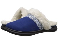 Spenco Nordic Slide Navy Women's Slide Shoes