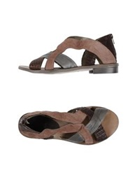 Malloni Sandals Dove Grey