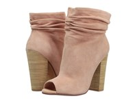 Kristin Cavallari Laurel Slouch Bootie Sand Kid Suede Women's Dress Pull On Boots Khaki