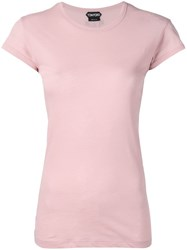 Tom Ford Round Neck T Shirt Pink