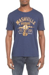 Lucky Brand Men's Nashville Guitars T Shirt