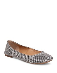 Lucky Brand Emmie Fabric Ballet Flats Black White