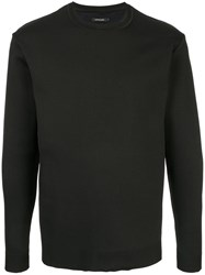 Loveless Crew Neck Jumper Black
