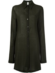 Damir Doma Long Shirt Green