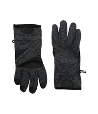 Timberland Gl360014 Ribbed Knit Stretch Glove Charcoal Extreme Cold Weather Gloves Gray