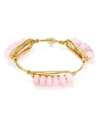 Bourbon And Boweties Millie Bangle Pink