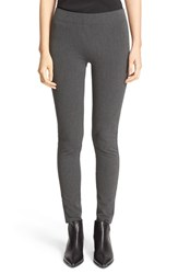 Joseph Women's Herringbone Leggings Dark Grey