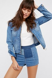 Free People Womens Patched High And Tight