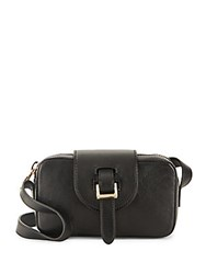 Meli Melo Microbox Crossbody Leather Bag Black