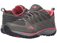 The North Face Litewave Explore Wp Dark Gull Grey Spiced Coral Women's Shoes Brown