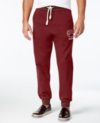 G Star Raw Men's Logo Jogger Pants Dry Red